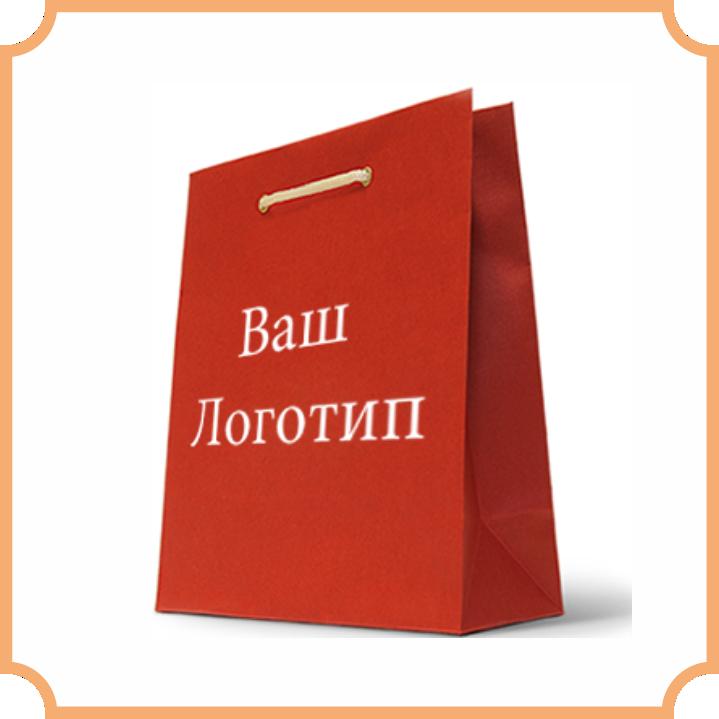 пакет с логотипом
