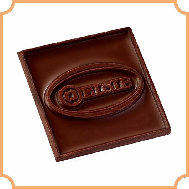 шоколад с барельефом